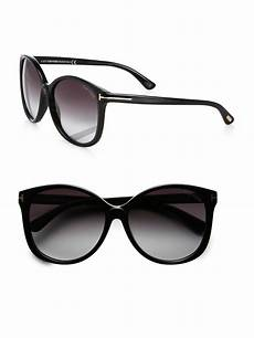 tom ford oversized acetate sunglasses in
