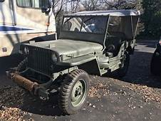 1941 MB Willys Slat Grill Jeep  REAL ORIGINAL WWII
