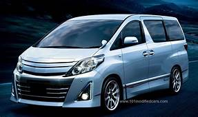 Modified Toyota Alphard GS 2nd Generation ANH20W Front