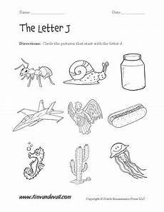 letter j worksheet 2 tim s printables