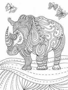 Afrikanische Muster Malvorlagen Zum Ausdrucken Ausmalbilder Tiere Mit Muster Ausmalbilder Ausmalbilder