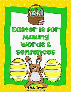 lesson for high school 18688 the easter bunny words and sentences classroom freebies words word sort