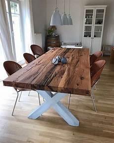 massivholztisch esstisch eichenholz altholz holzwerk