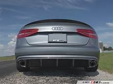 ecs news audi b8 a4 ecs tuning carbon fiber rear diffuser