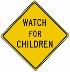 24 quot for children signs usa traffic signs