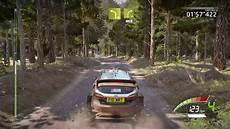 4k wrc 7 poland stage xbox one x gameplay