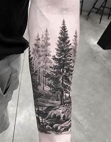 Awesome Forest Scenery For Sleeve Nature