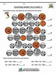 teaching money ks1 worksheets 2601 free money worksheets counting money to 1 pound 4 gif 800 215 1035 money worksheets counting