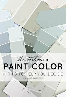 how to choose a paint color 10 tips to help you decide