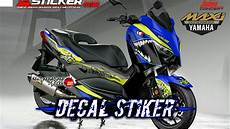 Modifikasi Xmax 250 by Kumpulan Modifikasi Decal Stiker Yamaha Xmax 250
