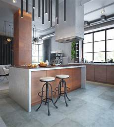 Küche Industrial Style - 32 industrial style kitchens that will make you fall in
