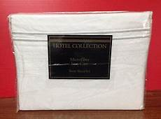 hotel collection microfiber easy care sheets hotel collection microfiber easy care sheet ebay