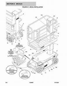 jlg lift wiring diagram wiring diagram