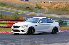 2020 bmw m2 2020 bmw m2 cs spotted on nurburgring shows new rear