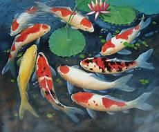Gt Gt Lukisan Ikan Galeri Khusus Lukisan Berkelas