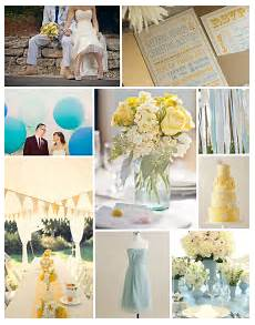 sky blue and yellow inspiration board i want yellow and
