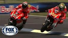 Valentino And Nicky Hayden Epic Finishes Indy Gp