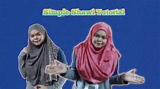 Simple Shawl Tutorial