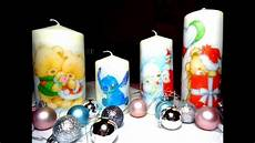 candele decorate per natale diy candele personalizzate printed candles idea regalo