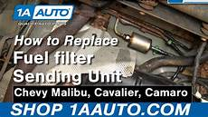 How To Replace Fuel Filter 97 03 Chevy Malibu 1a Auto