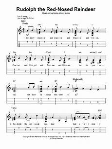 rudolph the red nosed reindeer sheet music johnny marks ukulele