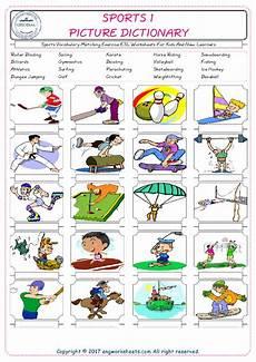 sports worksheets esl 15725 resolutions ingles ni 241 os material escolar ni 241 os