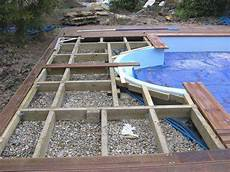 pose de piscine hors sol pose terrasse bois autour piscine hors sol mailleraye fr