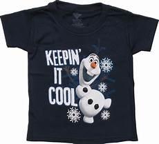 frozen olaf keepin it cool toddler t shirt