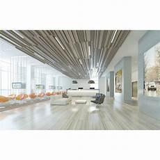 plafond suspendu acoustique plafond modulaire acoustique en lames d aluminium bxd