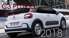 la nouvelle c3 c3 pluriel 2018 la c3 cabriolet