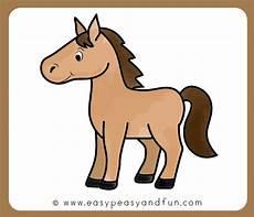 Sketsa Kuda Mudah Gambar Sketsa Kartun Lucu Yang Mudah