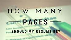 resume how many pages should it be epic cv the most comprehensive articles about resumes