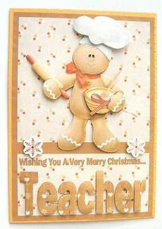 merry christmas teacher a5 decoupage card cup152232 576 craftsuprint