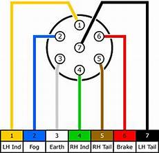 trailer socket wiring loom diagram pajero owners club of south africa