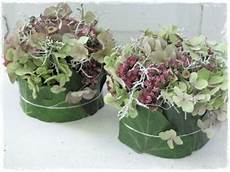 hortensien gesteck selber machen очиток в саду