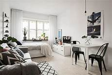 60 Cool Studio Apartment With Scandinavian Style Ideas On
