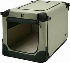hundebox faltbar maelson 174 hundebox faltbar soft kennel beige transportbox