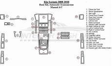 automotive repair manual 2008 kia sorento seat position control kia sorento 2008 2010 dash trim kit basic kit automatic transmission without heated seats