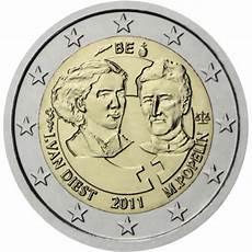 belgique 2 comm 233 morative 2011 valeur des pi 232 ces