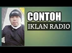 contoh iklan radio monolog konter youtube