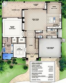 lanai house plans 3 bedroom beauty with covered lanai 65613bs 1st floor
