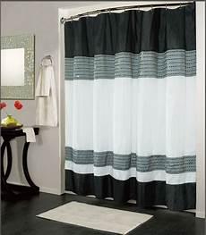 Black Shower Curtain