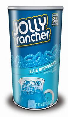 jolly rancher drink mix canister blue raspberry 80 oz 1