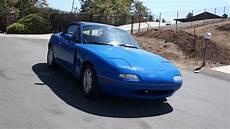 manual cars for sale 1990 mazda mx 5 lane departure warning 1 owner 1990 mazda miata mx 5 5 spd convertible for sale 81k orig mi youtube