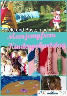 Meerjungfrau Kindergeburtstag Spiele Kindergeburtstag