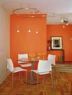 esszimmer gestalten farbe orange design ideas hgtv