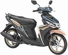Modifikasi Mio M3 2018 by Yamaha Mio M3 2018 Warna Biru Emas Velg Emas Bmspeed7
