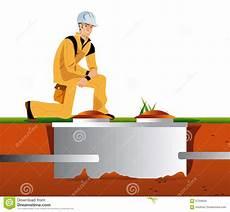 prix nettoyage fosse septique septic tank stock illustration illustration of
