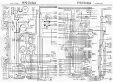 dodge charger and coronet 1972 complete wiring diagram all about wiring diagrams