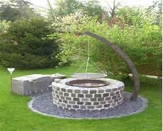 Grillstelle Im Garten - feuerstelle selber bauen im garten ber 1000 ideen zu